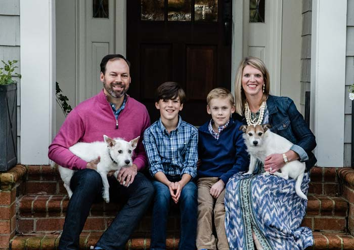 Dr. Amanda Linch and Her Family